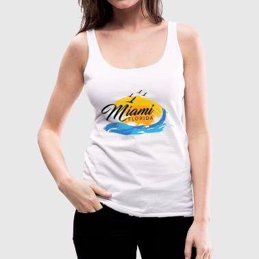 miami - Women's Premium Tank Top