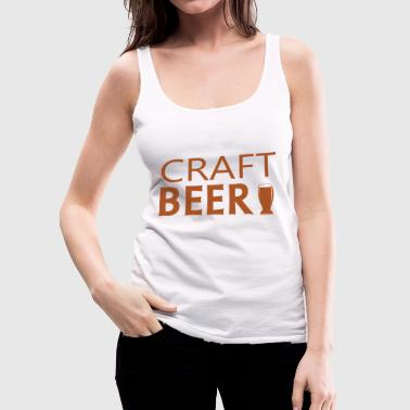 Beer craft - Women's Premium Tank Top
