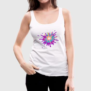 Splash of colors - Women's Premium Tank Top