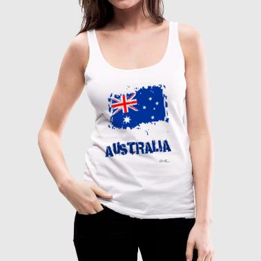 Australia Flag - Women's Premium Tank Top