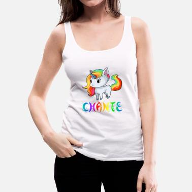 Chant Chante Unicorn - Women's Premium Tank Top