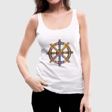 wheel - Women's Premium Tank Top