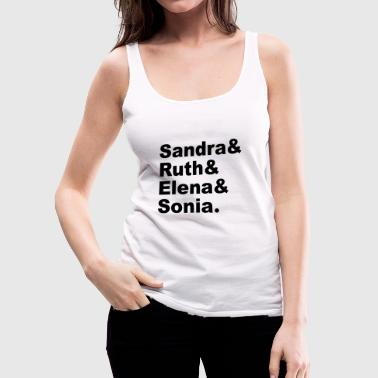 THE SUPREMES - Women's Premium Tank Top