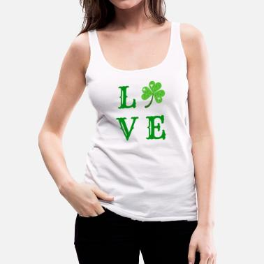 Shamrock shamrock love - Women's Premium Tank Top