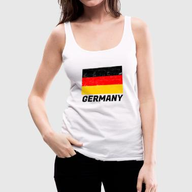 Flag Germany - Women's Premium Tank Top