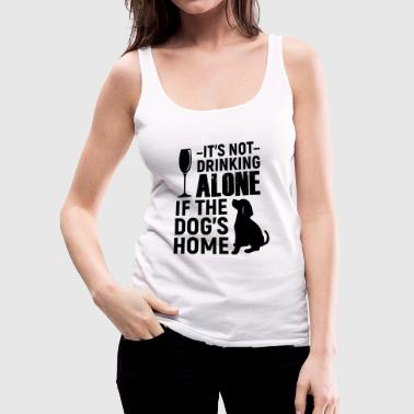Wine Dogs - Women's Premium Tank Top