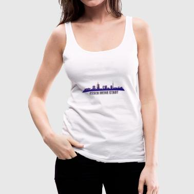 Essen design motive Germany - Women's Premium Tank Top