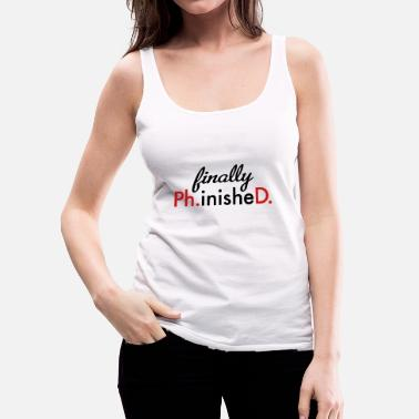 Phd phd - Women's Premium Tank Top