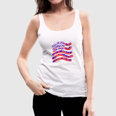 Stars and Stripes - Women's Premium Tank Top
