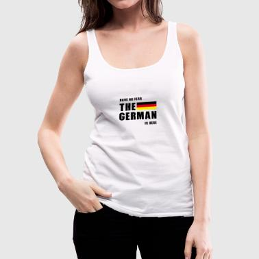 The German - Women's Premium Tank Top