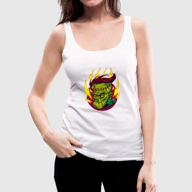 FUNKENSTEIN HORROR - Women's Premium Tank Top