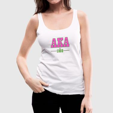 AKA TRADITIONAL - Women's Premium Tank Top