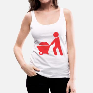 Sand carrying sand - Women's Premium Tank Top