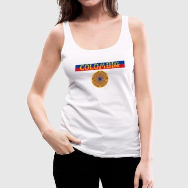 Colombia - Women's Premium Tank Top