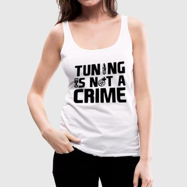 TUNING CRIME - Women's Premium Tank Top