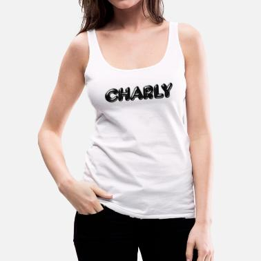 First Name Charly First name - Women's Premium Tank Top