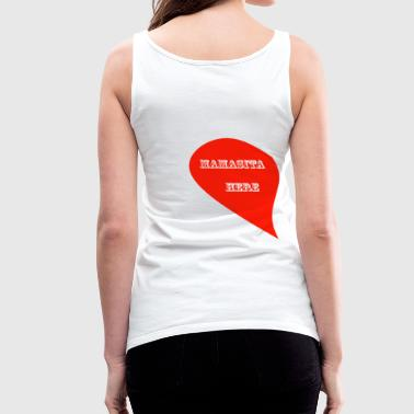LOVE IS IN THE AIR - 1 LEFT SIDE - Women's Premium Tank Top