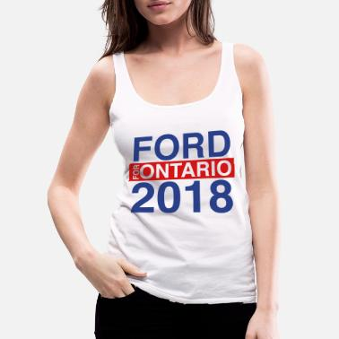 Ford Ford for Mayor; Ford Nation - Women's Premium Tank Top