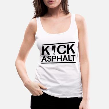 Competition Kick Asphalt - Women's Premium Tank Top