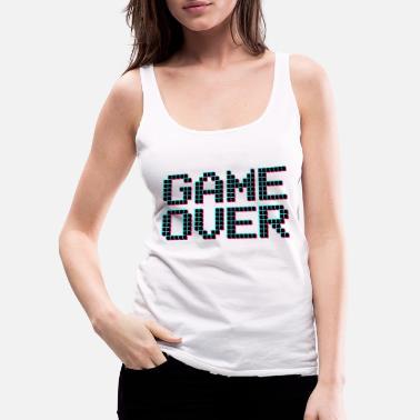 Game Over GAME OVER - Women's Premium Tank Top