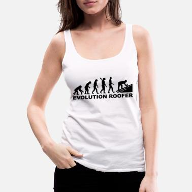 Roofer Clothes Roofer - Women's Premium Tank Top