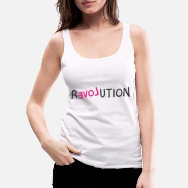 Revolution Revolution - Women's Premium Tank Top