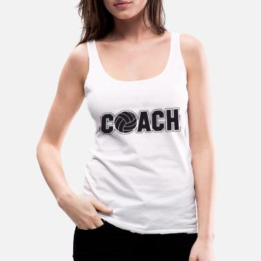 Volley volley coach - Women's Premium Tank Top
