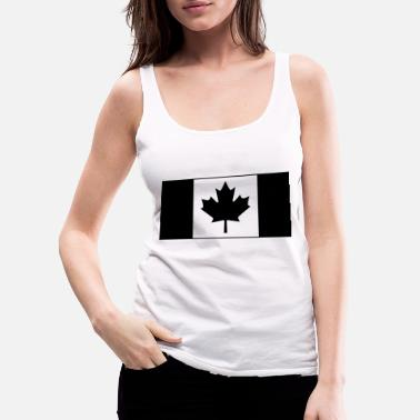 Canadian Military Canadian Military KCCO Flag - Women's Premium Tank Top