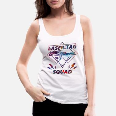 Tag Laser tag squad gun soldier sport gift - Women's Premium Tank Top