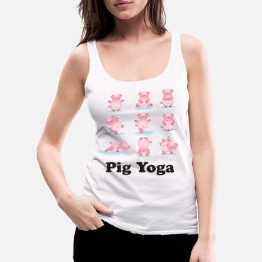 Asian Year of the Pig Chinese New Year 2019 Zodiac - Women's Premium Tank Top