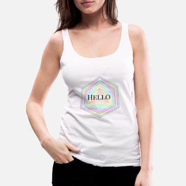 Hello Hello - Women's Premium Tank Top