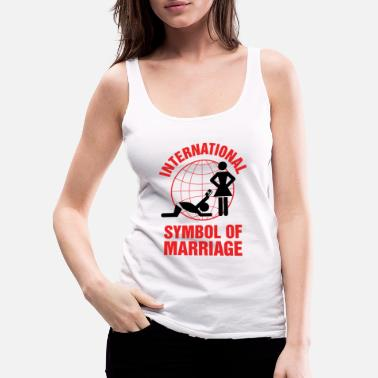 Marriage Marriage - Marriage Symbol - Women's Premium Tank Top