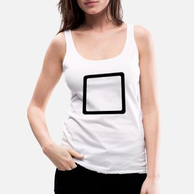 Square Square - Women's Premium Tank Top