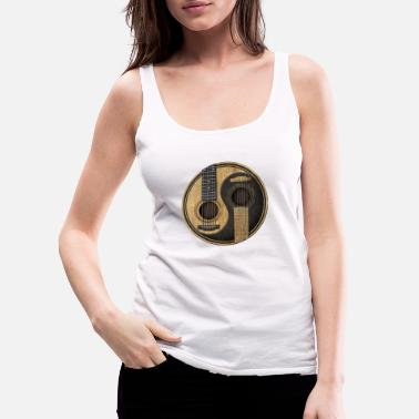Bartel Acoustic Guitars Yin Yang - Women's Premium Tank Top
