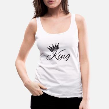 Underground the king - Women's Premium Tank Top