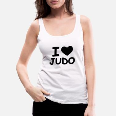 Brooklyn time for judo - Women's Premium Tank Top