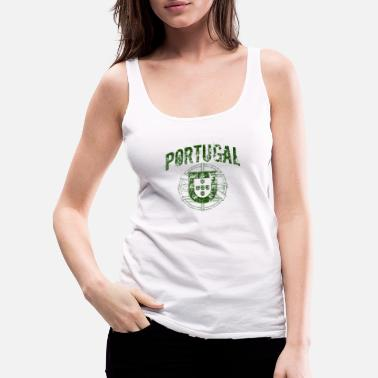 Vintage Portugal - Women's Premium Tank Top