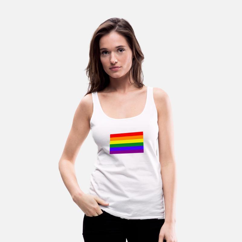 d533eca830ba71 Gay Pride Tank Tops - I m gay and it s all gucci - Women s Premium