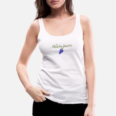 The Moody Foodie tee - Women's Premium Tank Top