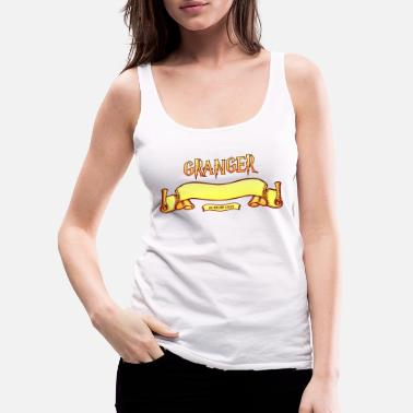 Hogwarts Granger Search Engine - Women's Premium Tank Top