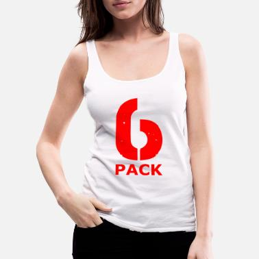 Six Pack SIX PACK - Women's Premium Tank Top