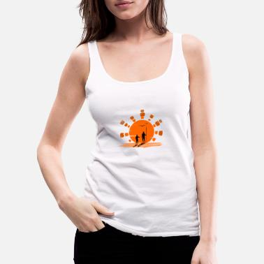 Ancient ancient hunters - Women's Premium Tank Top