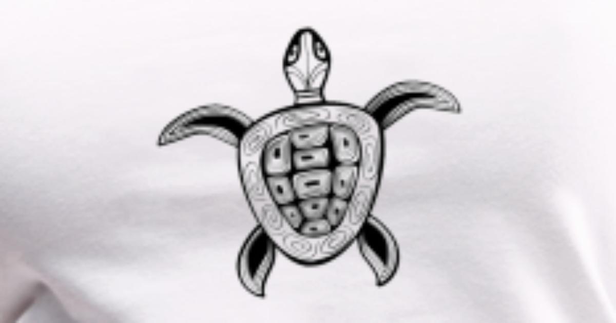 Sea Turtle Design Women S Premium Tank Top Spreadshirt
