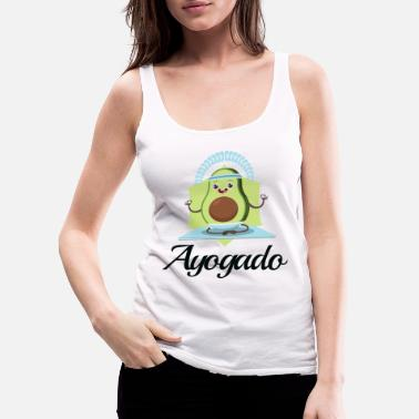 Breathe Ayogado | Yoga Avocado - Women's Premium Tank Top