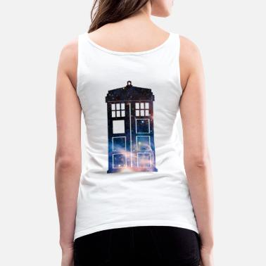 Geek Galaxy Tardis - Women's Premium Tank Top