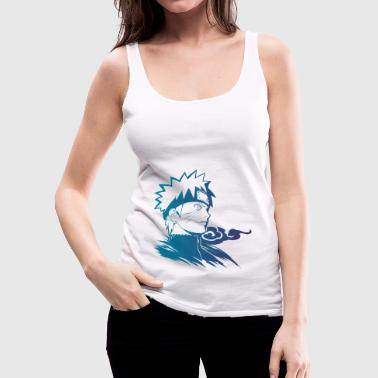 Blue Naruto - Women's Premium Tank Top