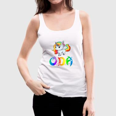 Oda Unicorn - Women's Premium Tank Top