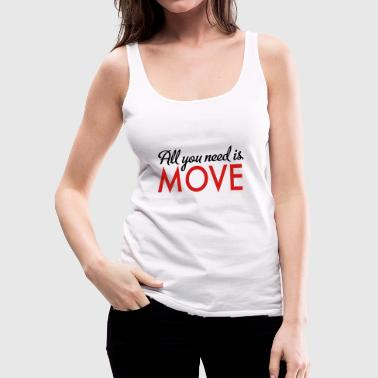 move - Women's Premium Tank Top