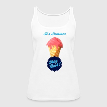 Ice Cream Summer - Women's Premium Tank Top