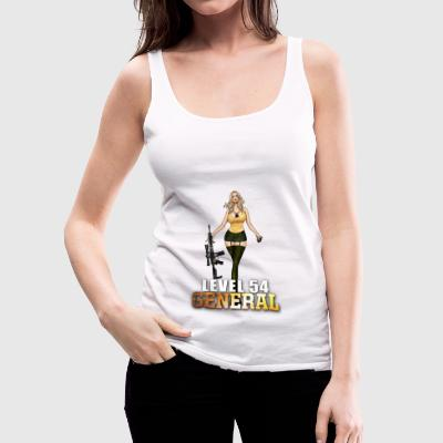 ww2 duty calls AR 15 LVL 54 GENERAL - Women's Premium Tank Top